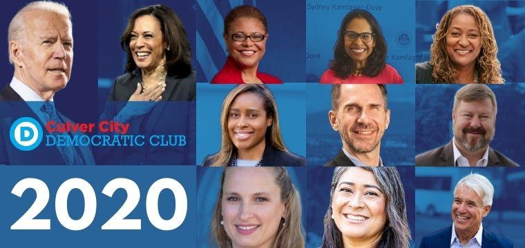 CulverCityDemocraticClub_2020_Endorsements